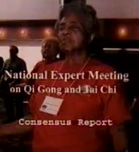 National Expert Meeting  on Qi Gong and Tai Chi Consensus Report