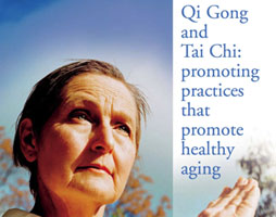 head shot of woman doing Tai Chi
