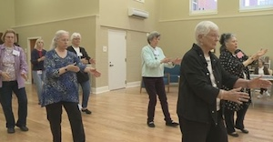 seniors practicing tai chi